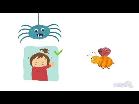 Coughing and Sneezing Etiquette - Health Tips for Kids   Child Health Education by Mocomi