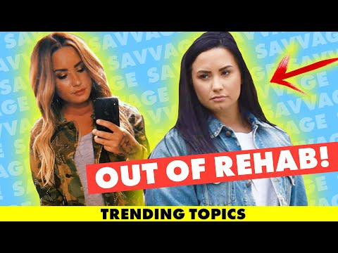 Demi Lovato Released From Rehab *Details* Living in Halfway House Mp3