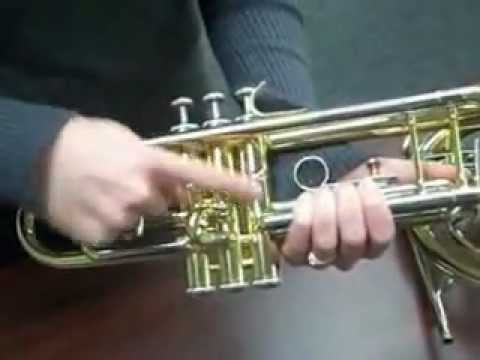 How to find the serial number on a brass instrument