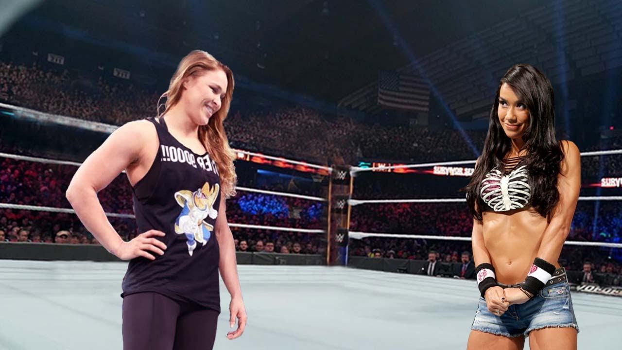 Ronda Rousey vs. Aj Lee : Full Match