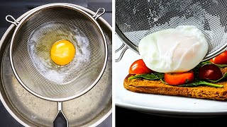 UNEXPECTED KITCHEN HACKS FOR EVERY DAY || 5-Minute Recipes With Eggs And Other Goodies!