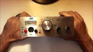 MFJ-9420 20 meter CW/SSB transceiver review/demo