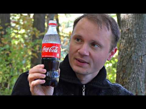 Feurige Coca Cola
