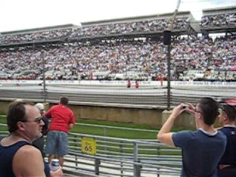 Trackside at the 2007 Indy 500