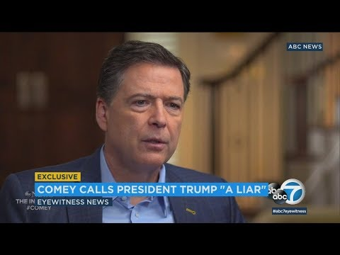 James Comey calls Trump morally unfit for office in exclusive ABC News interview | ABC7