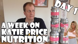 A Week On Katie Price Nutrition DAY 1
