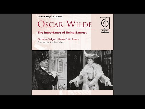 character analysis the importance of being earnest algernon moncrief The characters and plot summary of 'the importance of being earnest'  algernon lives in luxury in london and has  jack has also invented a character.