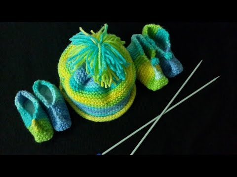 4c268364cb0 Baby Cap With Multy-Color Yarn in Urdu Hindi by Azra Salim - YouTube