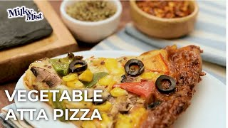 Healthy Atta Pizza | Homemade Pizza Recipe | How to make pizza at Home
