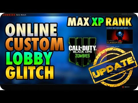 BO4 Zombie Glitches: Online Custom Mutations Lobby & Earn XP Fast 'Updated' - Black Ops 4 Glitches