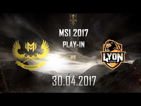 [30.04.2017] GAM vs LYN [MSI 2017][Play-in]