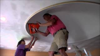 Dome Ceiling    molding   Part 7