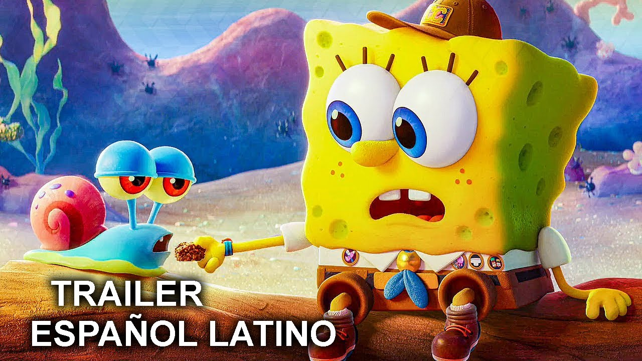 Bob Esponja Al Rescate Trailer Espanol Latino 2020 Youtube