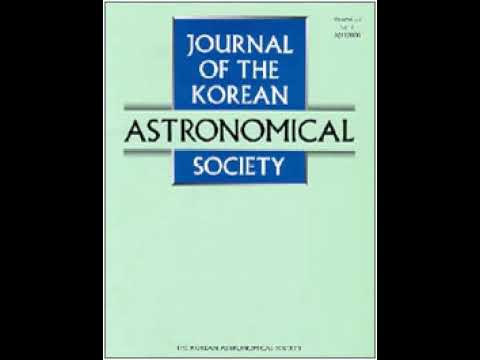 Journal of the Korean Astronomical Society | Wikipedia audio article