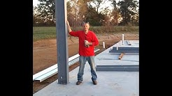 Steel Frame Building Do It Yourself Kit w/ American Steel, Michael R Vanderpool LONG VERSION 2