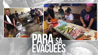 24 Oras: Bayan ng Bauan pinakamaraming tinanggap na evacuees sa Batangas na apektado ng Taal volcano