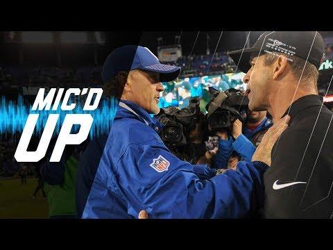 John Harbaugh & Chuck Pagano Mic'd Up on Rainy Night | NFL Sound FX
