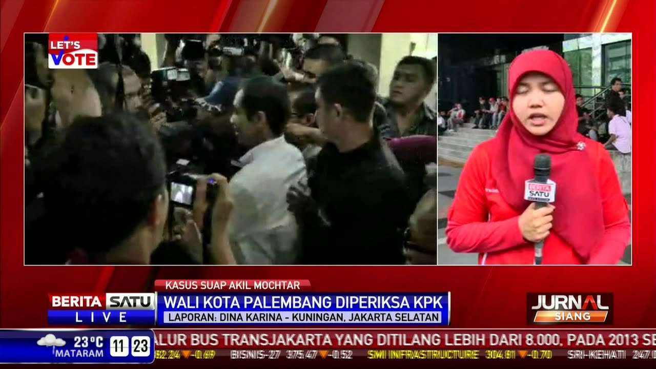 Romi Diperiksa Kpk Update: Walikota Palembang Romi Herton Diperiksa KPK