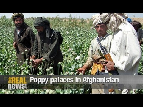 Poppy palaces in Afghanistan