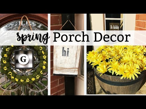 DOLLAR TREE SPRING OR SUMMER PORCH DECOR
