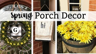 Dollar Tree Diy | Spring & Summer Porch Decor | 3 Easy Projects