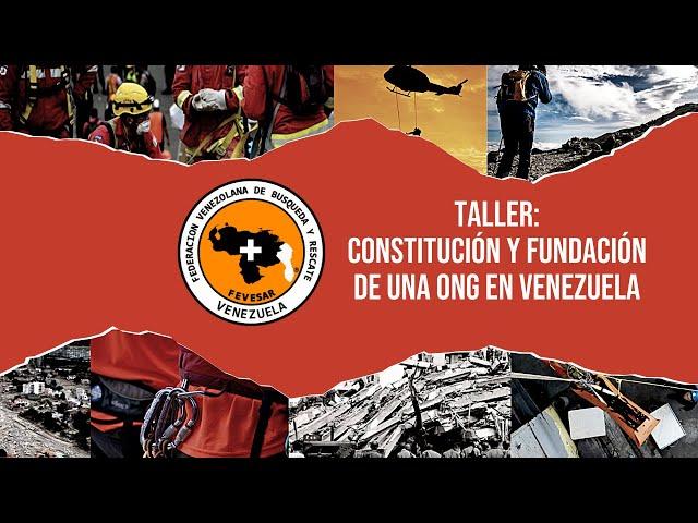TALLER: Constitución y fundación de una ONG en Venezuela