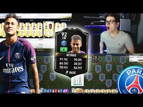 FIFA 17: PSG NEYMAR BUY FIRST LEGEND 😱🔥😈 - Special Legend Buy First Guy!