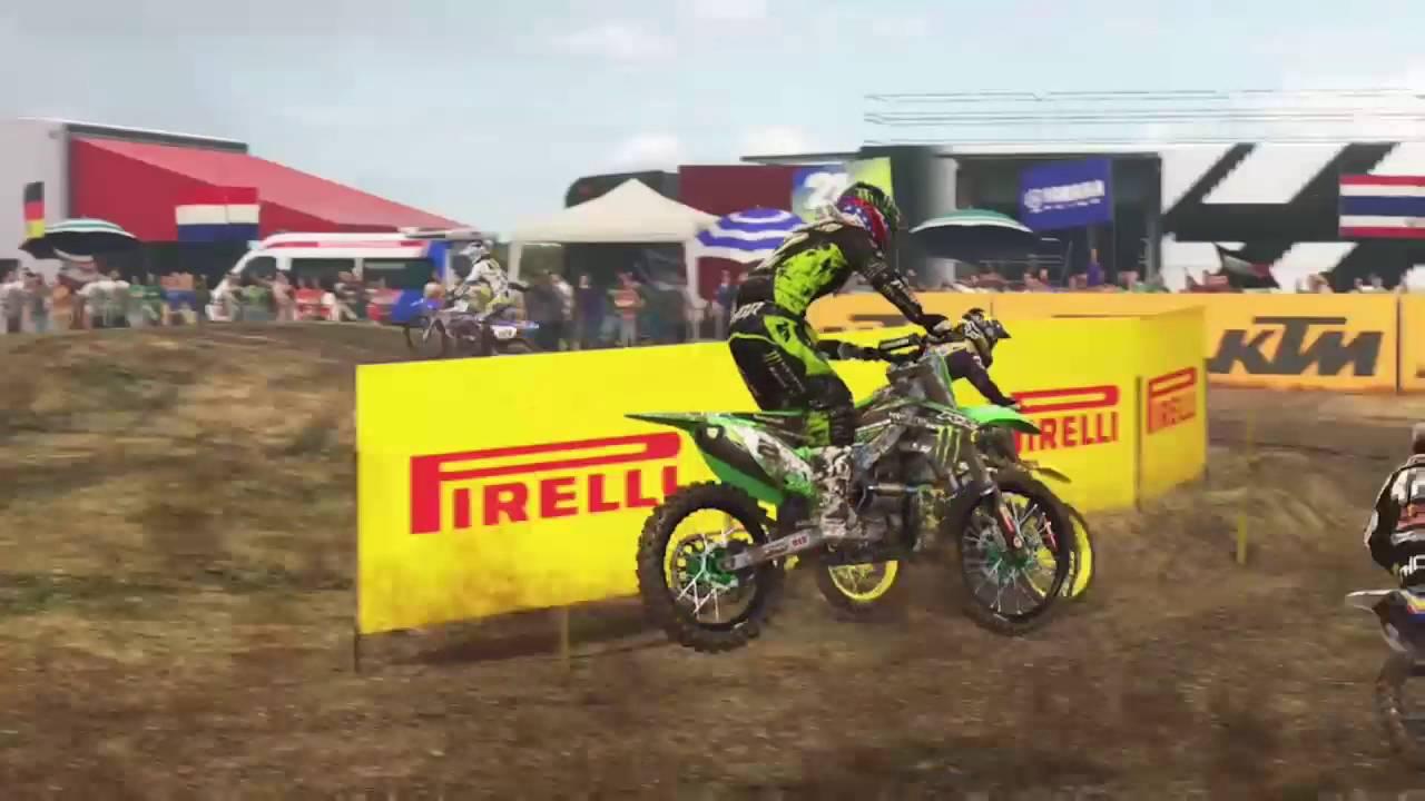 Motocross Ps4 Mxgp2 Game Youtube Mx Gp 2