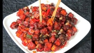 Paneer Chilly Recipe in Tamil