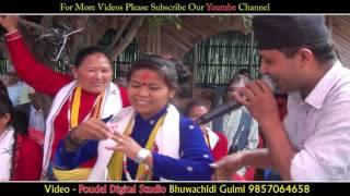 बाफ रे बाफ बब्बाल नाच्यो यो जोडी || SUPER HIT Dance at panche baja Chitwan