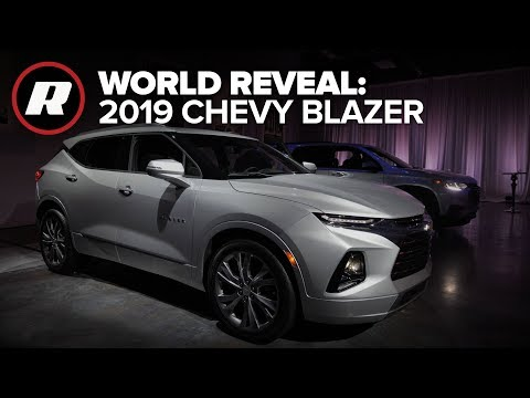 World Reveal: 2019 Chevy Blazer returns after years of dormancy