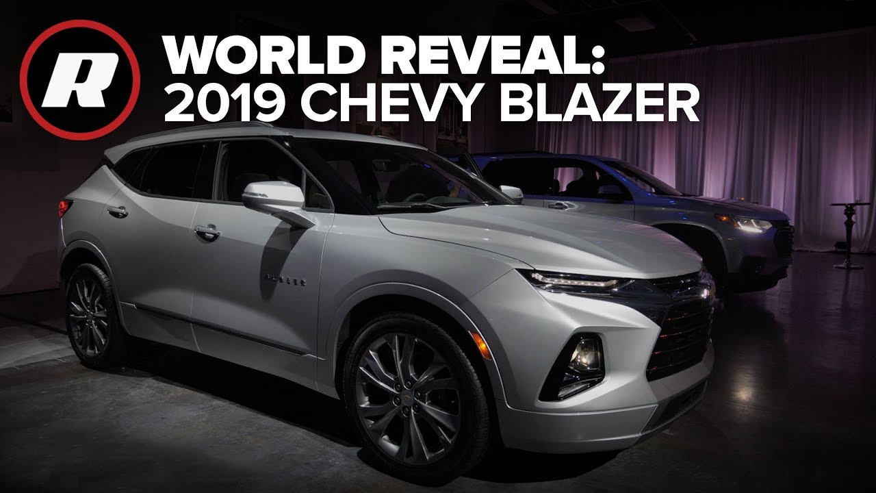 World Reveal: 2019 Chevy Blazer returns after years of ...