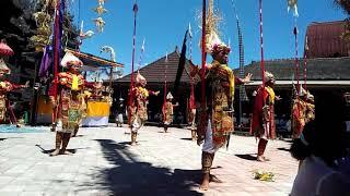 Tari Baris Jojo ring Batur-Kintamani