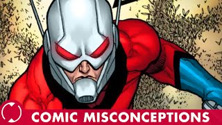 Is ANT-MAN a WIFE-BEATER?! || Comic Misconceptions || NerdSync