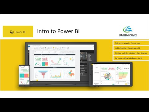 Business Intelligence consulting Canada including Power BI