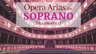 Opera Arias For Soprano Drammatico - OperaOke (Karaoke with Lyrics / Instrumental)