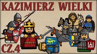 Kazimierz III Wielki cz.4  (Historia Polski #62) (1339-1341) - Historia na Szybko