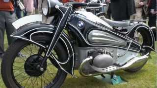 Vintage German Motorcycles of 2012 Concours d