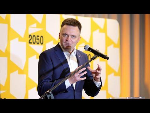 Szymon Hołownia na I Forum Samorządowym w Pabianicach