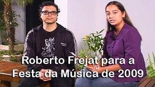 Roberto Frejat para a Festa da Música 2009