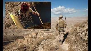 US Marines encounter Red Haired Giant in Afghanistan