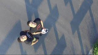 Trolling Keith's Family | Home Tour | Flying DJI Phantom Drone | @hodgetwins