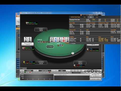 Poker CAP разбор игрока Rommythecute YouTube 1
