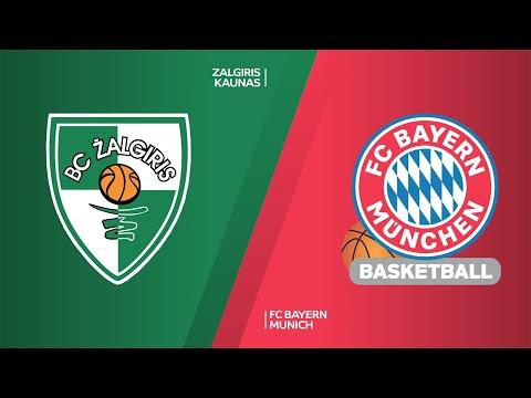 Zalgiris Kaunas - FC Bayern Munich Highlights | EuroLeague, RS Round 16