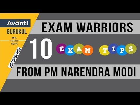 Exam Warriors - 10 Exam Tips From PM Narendra Modi