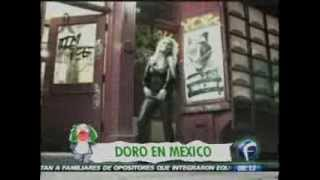 """Doro Pesch celebrates in Mexico her 30 Metal Years with """"Raise Your Fist""""."""