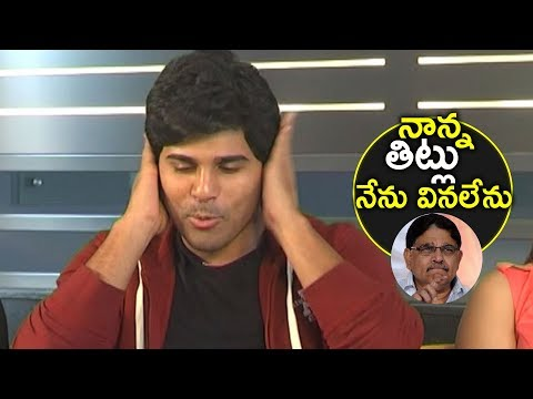 Allu Sirish About his DAD Allu Aravind RESPONSE | Okka Kshan