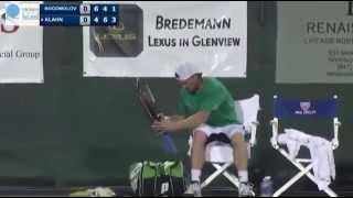 Alex Bogomolov Quits Tennis Match Because of Fail Ref