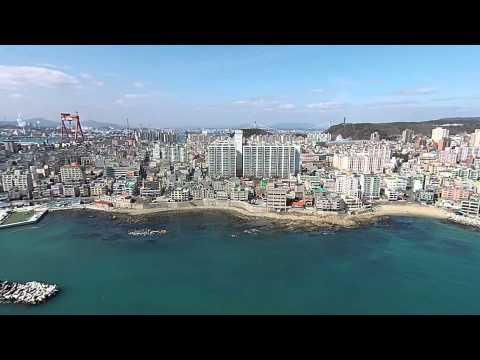RobsSkyviewz sunny Coastal Ulsan, South Korea