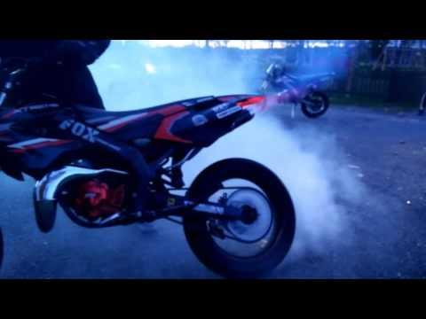R.I.P KL NOX 50cc + Husqvarna 144 & Beta rr wheelies!!!